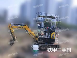 小松PC18MR-2挖掘机实拍图片