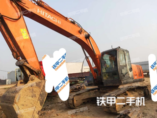 河北-邯郸市二手日立ZX210LC-3挖掘机实拍照片