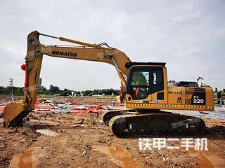 广州小松PC220LC-8挖掘机实拍图片