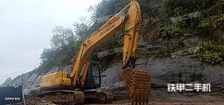 梁平現代R225LC-7挖掘機實拍圖片