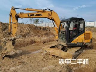 安徽-宿州市二手柳工CLG908D挖掘机实拍照片