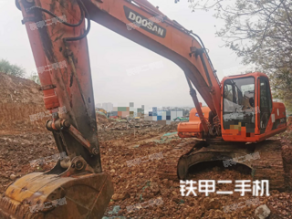 安康斗山DH220LC-7挖掘机实拍图片