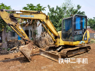 广东-湛江市二手小松PC56-7挖掘机实拍照片