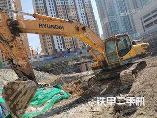 二手现代 R335LC-9T 挖掘机转让出售