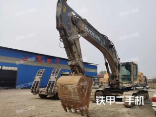 安阳沃尔沃EC460BLC挖掘机实拍图片