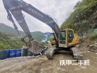 安康沃尔沃EC210BLC挖掘机实拍图片