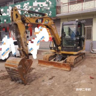 山西-大同市二手卡特彼勒305.5E2小型液压挖掘机实拍照片