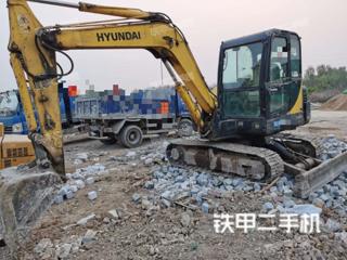 山东-济南市二手现代R55-7挖掘机实拍照片