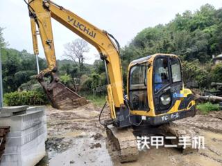 南宁玉柴YC60-8挖掘机实拍图片