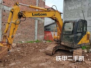 四川-成都市二手柳工CLG908D挖掘机实拍照片
