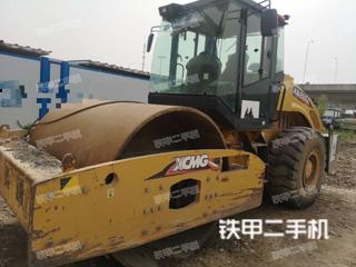 湖北-武汉市二手徐工XS222J压路机实拍照片