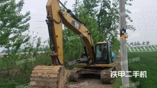 江苏-徐州市二手卡特彼勒323D2L挖掘机实拍照片