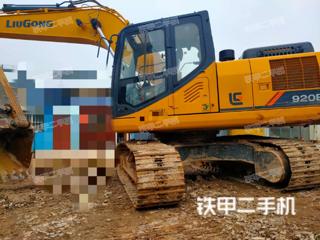 湖北-武汉市二手柳工CLG920E挖掘机实拍照片