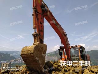 湖北-恩施市二手斗山DX260LC挖掘机实拍照片