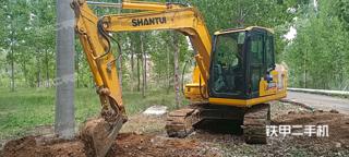 山推SE75-9W挖掘机实拍图片