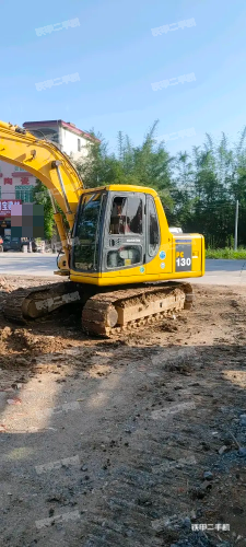 肇慶小松PC120-6E挖掘機實拍圖片