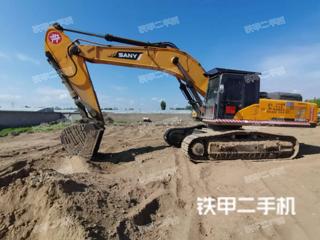 北京三一重工SY465H挖掘机实拍图片