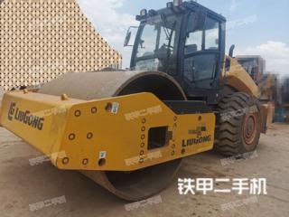 云南-昆明市二手柳工CLG6126E压路机实拍照片