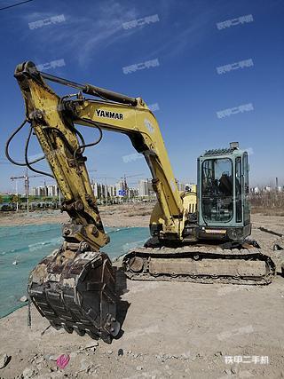 酒泉洋馬Vio80挖掘機實拍圖片
