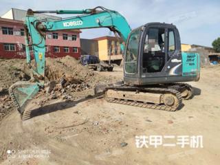 廊坊神鋼SK75-8挖掘機實拍圖片