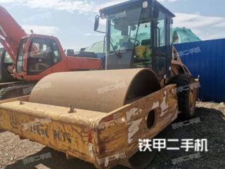 云南-昆明市二手柳工CLG614压路机实拍照片