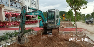 广州山河智能SWE50N9挖掘机实拍图片