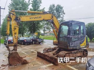 江西-上饶市二手现代R80-7挖掘机实拍照片