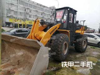 安庆柳工ZL50CN装载机实拍图片