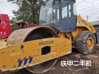 四川-广元市二手徐工XS223JE压路机实拍照片