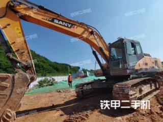 江苏-南京市二手三一重工SY265C挖掘机实拍照片