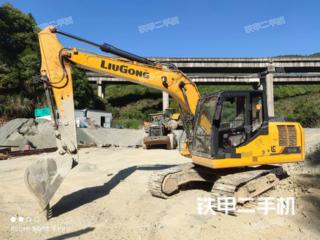 柳工CLG913E挖掘機實拍圖片