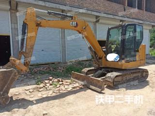 安徽-亳州市二手卡特彼勒306小型液压挖掘机实拍照片
