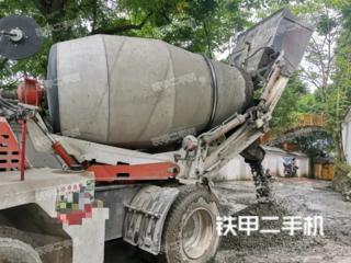 鲁兴大力4立方混凝土搅拌车搅拌运输车实拍图片