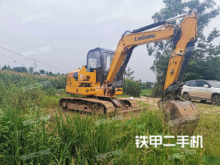 柳工CLG9055E挖掘機實拍圖片