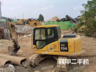 佛山小松PC130挖掘機實拍圖片