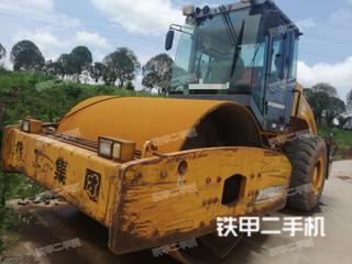 四川-眉山市二手徐工XS202JE压路机实拍照片