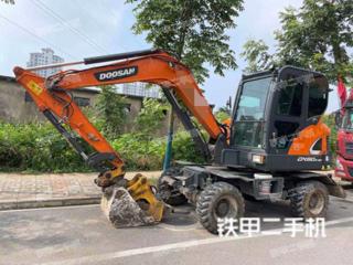 斗山DX60W-9CN挖掘機實拍圖片