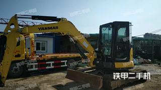 洋馬VIO60-6B挖掘機實拍圖片