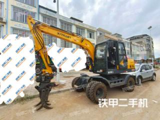 新源XYC75W-9挖掘机实拍图片