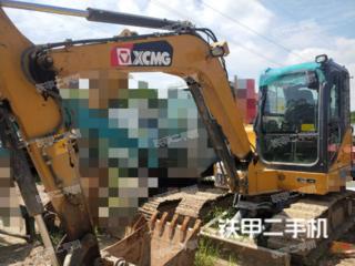 陕西-西安市二手徐工XE60D挖掘机实拍照片