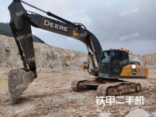 銅陵約翰迪爾E240挖掘機實拍圖片