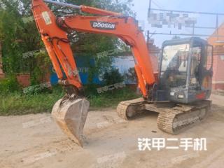 山东-青岛市二手斗山DH55-V挖掘机实拍照片
