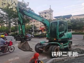 二手新源 XY75W-8 挖掘机转让出售