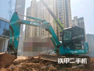 河南-平顶山市二手神钢SK60-8挖掘机实拍照片