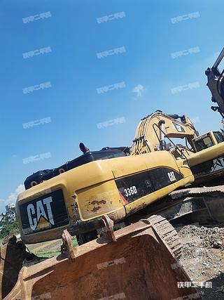 玉林卡特彼勒336D液壓挖掘機實拍圖片