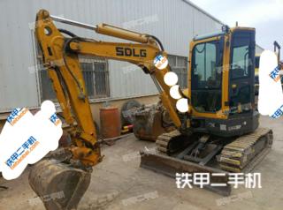 山东临工ER636F挖掘机实拍图片