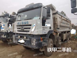 紅巖8X4工程自卸車實拍圖片